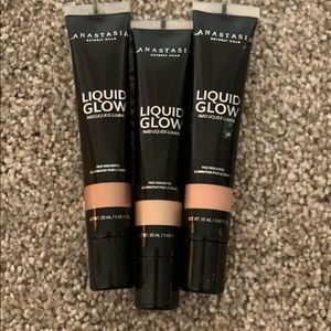 Never used ABH liquid glow highlighters